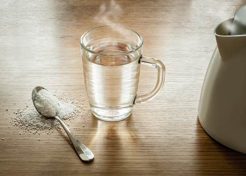 salt-and-hot-water