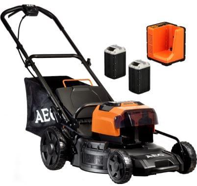 AEG-58v-4.0Ah lawn mower