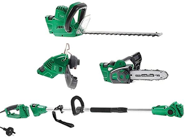 Matrix 5in1 Corded Electric Pole Chainsaw Hedge Trimmer