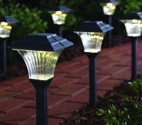Solar LED Pathway Lighting