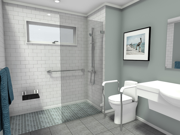 The Ultimate Guide for Creating a Wheelchair-Friendly Bathroom