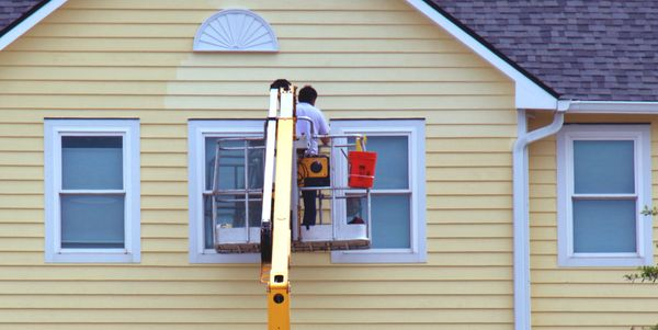 How much does it cost to paint a  house exterior?