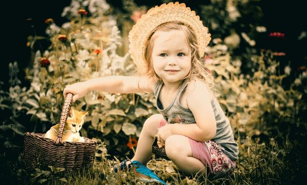 How To Choose A Nice Garden For Baby Photos